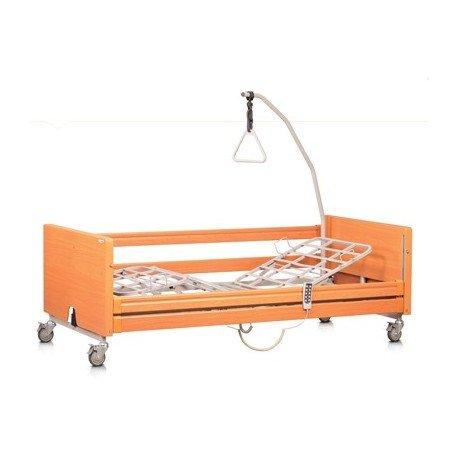 """Smart Reha - Letto elettrico ortopedico per disabili, anziani e ammalati """"Rose"""". ASTA SOLLEVAMALATI INCLUSA!"""