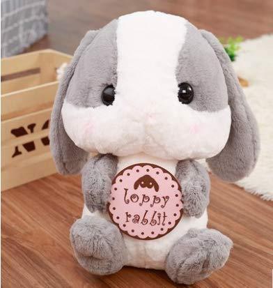 Kostüm Bunny Klassisches - Lop Rabbit Plüschtier Bunny Big Doll Doll Schlafkissen Stoffpuppe Small Cute Sleeping Hug Grey Section 32Cm