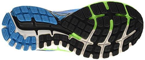 Brooks Adrenaline Gts 16, Chaussures de Running Compétition Homme Bleu - Blau (MethylBlue/GreenGecko/Black)