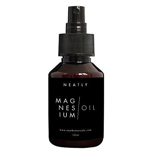 Magnesiumöl Spray von Neatly 100ml   Magnesium Spray Magnesiumchlorid   Magnesiumöl Vitalspray   Magnesiumöl Bio   Magnesium Öl Magnesium Pur