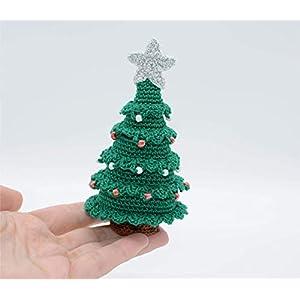 Weihnachtsbaum Geschenk, häkeln Winterdekoration, kleine Verzierung