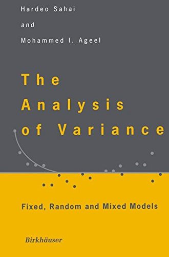 ance: Fixed, Random and Mixed Models (Sas For Mixed Models)