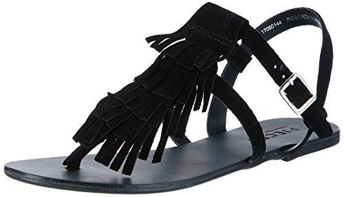 Psberta Suede Cinturino Alla Caviglia Nero (nero)