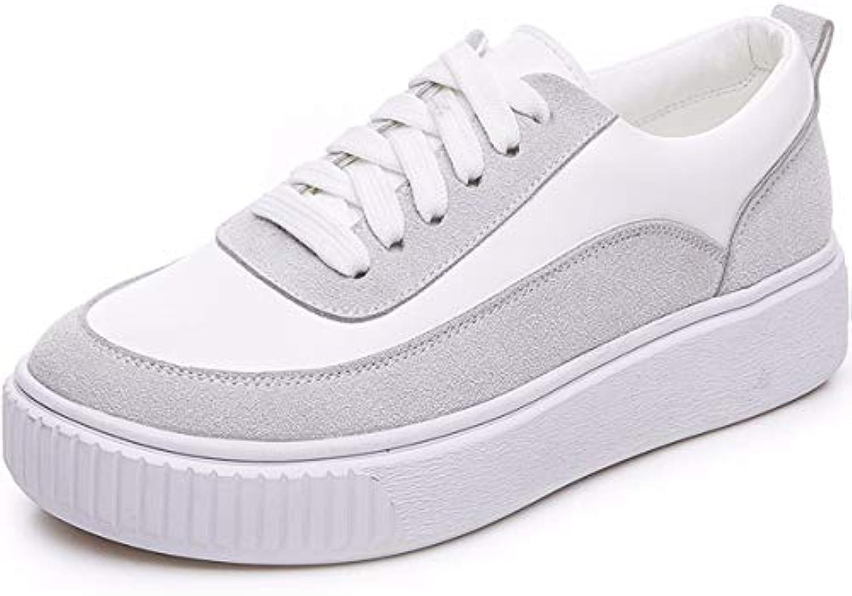KOKQSX-Fondo Piatto Piccole Scarpe Bianche di Studenti a Bordo di Scarpe di Spessore Inferiore Tempo Libero Wild... | Materiali Di Altissima Qualità  | Uomo/Donne Scarpa
