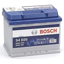 BOSCH S4E05 Batterie de Voiture 60A/h-640A-dernier modèle/Nouvelle Performance