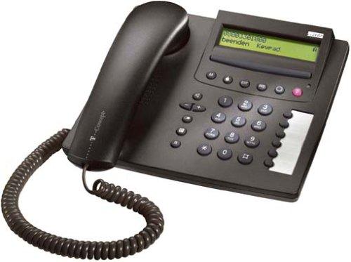 Telekom T-Concept P722 Schurgebundenes ISDN-Telefon schwarzblau