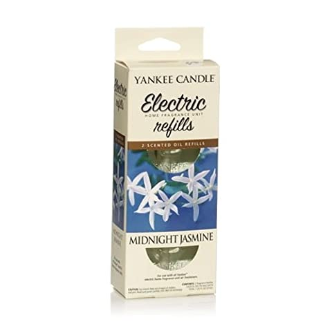 Yankee Candle Midnight Jasmine Electric Home Fragrance Diffuser Twin Refill