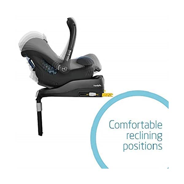 Maxi-Cosi Pearl Toddler Car Seat Group 1, ISOFIX Car Seat, Compact, 9 Months-4 Years, 9-18 kg, Nomad Red with FamilyFix ISOFIX Base Suitable for CabrioFix and Pearl, Black Maxi-Cosi Isofix anchorages provides the safest, easiest and quickest way to install a car seat Innovative stay open harness stays open to easily get the child in and out in seconds ISOFIX car seat base suitable for children up to 18 kg (from birth to 4 years) 5