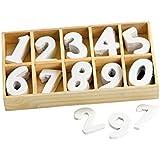 VBS Holz-Zahlen. 60 Stück in Box