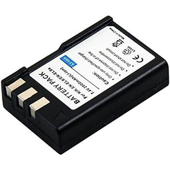 ENEL9 EN-EL9 Battery for Nikon D40 D60