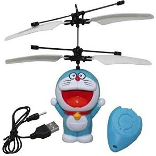 Doraemon Flying Minion Sensor +Remote Control Mini RC Helicopter Toys  available at amazon for Rs.390
