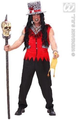 KOSTÜM - VOODOO PRIESTER - Größe 50/52 (Kostüm Mann Voodoo)