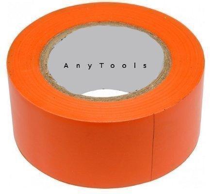 Preisvergleich Produktbild Klebeband PVC 50mm x 33m orange rückstandsfrei