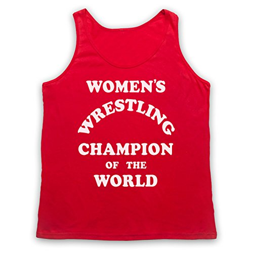 Women's Wrestling Champion Of The World Tank-Top Weste Rot