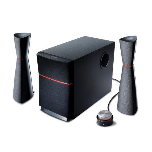 EDIFIER M3200 2.1 Lautsprechersystem (34 Watt) mit Kabelfernbedienung