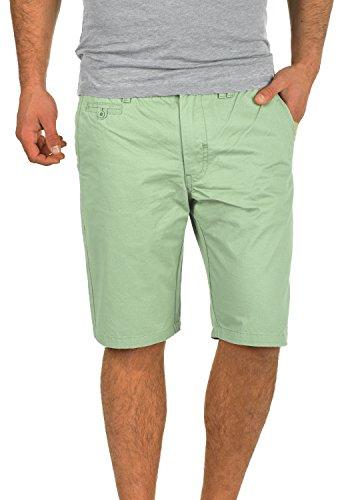 Blend Sasuke Chino Shorts Bermuda Kurze Hose Aus 100% Baumwolle Regular Fit, Größe:S, Farbe:Foam Green (77206) (Klassische Bermuda)