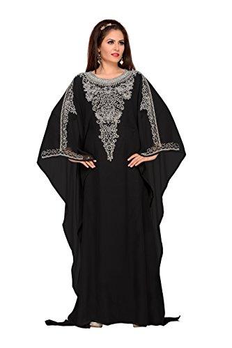 Bedi'S Uae Style Women Farasha Maxi Arabisches Islamisches damen Kaftan Langes frauen Kleid - Eine Grösse -