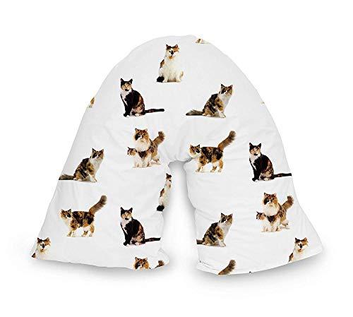 BaoQia Nackenkissen - bequemes Kissen für die Heimpflege Bettwäsche-Cats 01