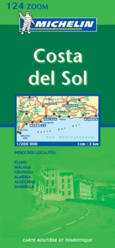 Carte routière : Costa del Sol, N° 11124