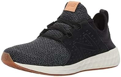 New Balance Men's Fresh Foam Cruz Fitness Shoes, (Black/White), 7 UK 40.5 EU