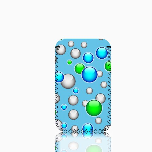 Biz-E-Bee Phonecase Exclusif 'Bulles' New iPhone 5téléphone portable résistant aux chocs en néoprène, Housse, Pochette–Beaucoup de couleurs disponibles–Royaume-Uni Blue (light)
