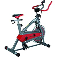 Skyland Indoor Spinning Bike - EM-1544, Red