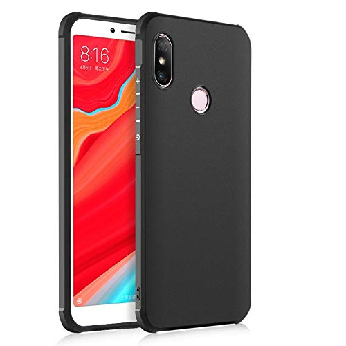 Hevaka Blade Xiaomi Mi MAX 3 Funda - TPU Carcasa Smart Case Cover para Xiaomi Mi MAX 3 - Negro