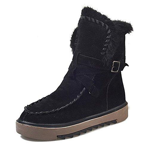Scarpe donna pu molla Comfort di caduta di scarponi per esterno marrone scuro marrone chiaro nero,marrone chiaro,US7.5 / EU38 / UK5.5 / CN38 Light Brown