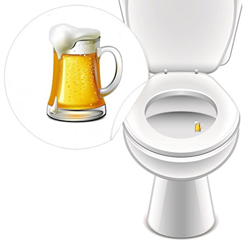 10 x Aufkleber WC GASTRO 2 Set, Toilettensticker lustig Pissoir Kneipe Bad Toilette – LK-Trend & Style