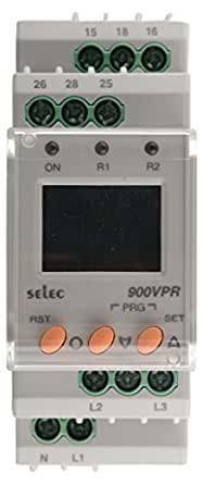Selec 900Vpr-2-280/520 Voltage Protection Relay