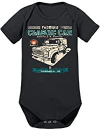 Touchlines Unisex Baby Body Classic Car Landi Defender Youngtimer