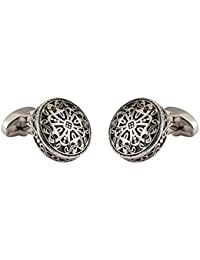 Knighthood Silver Engraving Exclusive Cufflinks For Men