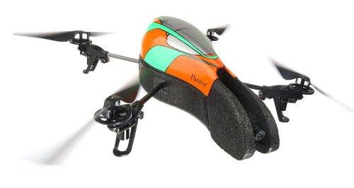 Parrot AR.Drone - Quadrocopter für iPhone/iPad/iPod touch, grün