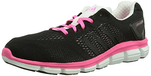 adidas Climachill Ride, Chaussures de running femme Noir (Core Black/Core White/Neon Pink)