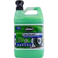 Slime SDSB-1G/02-IN Sellante de Reparación de Neumáticos Pinchados con Bomba, Apto para Tractores, Camiones, Tráileres, Todoterrenos y Quads, No Tóxico, Ecológico, Botella de 3,78Litros