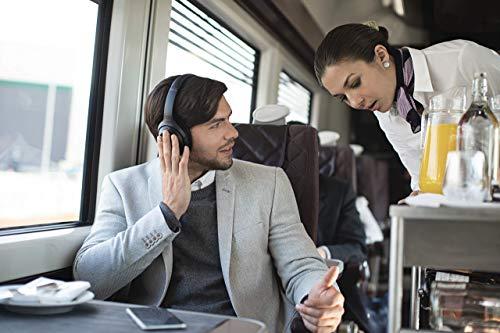Sony WH-1000XM3 Bluetooth Noise Cancelling Kopfhörer (30h Akkulaufzeit, Touch Sensor, Headphones Connect App, Schnellladefunktion) schwarz - 11