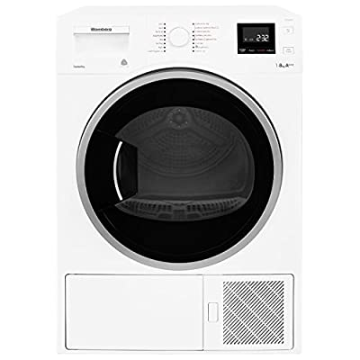 Blomberg 8kg Heat Pump Hybrid Tumble Dryer - LTH3842W by Blomberg