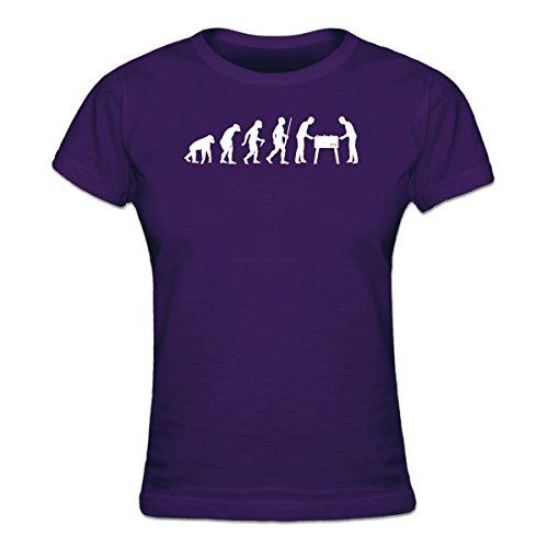 Shirtcity Foosball Table Kicker Evolution Frauen T-Shirt by