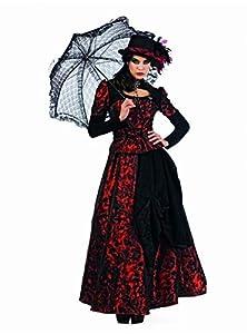 Limit Sport - Disfraz de gótica Roxaria para adultos, color rojo, talla XXL (EA139)
