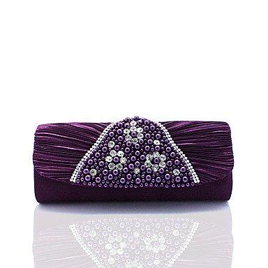 ZYT Damen Polyester Formell Alltag Veranstaltung / Fest Hochzeit Büro & Karriere Abendtasche Purple