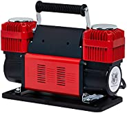 Ultra Extreme 4x4 Tire Super Air Flow Portable Car Air compressor 300 Litter/Mints 150 PSI With Carry Bag Colo