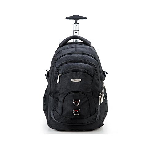 QIQI-BAG Jugend-Trolley-Rucksack-Geschäftsreisetasche-Bordtasche-Tourismus-Student-Kurze Reise