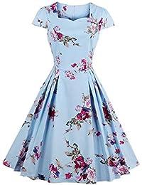Amazon.it  Vestiti Eleganti Da Matrimonio - 4XL   Donna  Abbigliamento d10d070260e