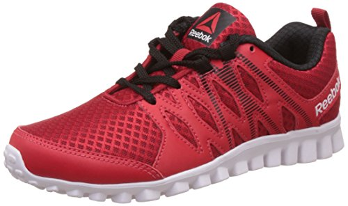 Reebok Boy's Arcade Runner Lp Red Rush, Black and White Sports Shoes - 13.5 UK/India (31.5 EU) (1 US)