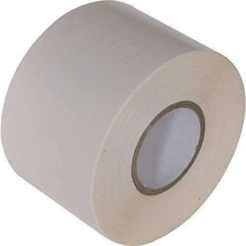 Gocableties PVC-Isolierband, 50 mm x 33 m, hochwertig, strapazierfähig, hochwertig, Weiß