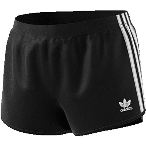 adidas 3 Stripes Short, Pantaloncini Donna, Nero, 42