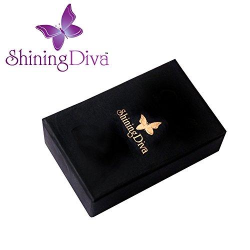 Shining Diva Fashion Luxury 18k Gold Plated Pearl Crystal Quartz Wrist Watch Bracelet for Girls and Women (8310bw)