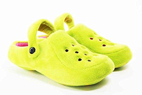 de fonseca, Pantofole donna Verde (verde)