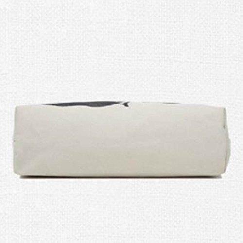 Borse Da Donna Tele Dipinti A Mano Stampa Letteratura E Arte T-shirt Borsa A Tracolla Borsa Grande Capacità Borsa Della Signora Beige