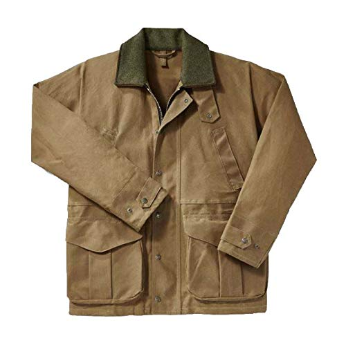 Filson Tin Cloth Field Jacket - Style 10003 Tan - Medium Filson Tin